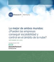 Lo mejor de ambos mundos:  ¿Pueden las empresas conseguir escalabilidad y  control en el ámbito de la nube?