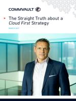La verdad sobre una primera estrategia en la nube