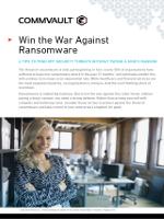 Gana la guerra contra Ransomware