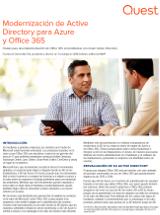 Modernización de Active Directory para Azure  y Office 365