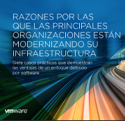 Razones por las que las principales organizaciones están modernizando su infraestructura