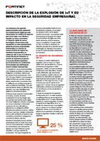 DESCRIPCIÓN DE LA EXPLOSIÓN DE IoT Y SU IMPACTO EN LA SEGURIDAD EMPRESARIAL