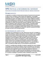 HPE PROTEGE LA SEGURIDAD DEL SERVIDOR