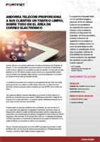 ANDORRA TELECOM PROPORCIONA A SUS CLIENTES UN TRÁFICO LIMPIO, SOBRE TODO EN EL ÁREA DE CORREO ELECTRÓNICO