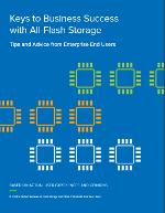 Claves para el éxito empresarial con almacenamiento All-Flash