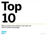 Diez razones para subirse a la nube con  SAP Business ByDesign