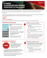 3 cosas que hay que saber antes de trasladar los datos a la nube