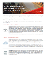 10 consejos antes de actualizar su contrato de nube pública