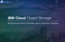 IBM Cloud Object Storage – Almacenamiento flexible para cambios rápidos