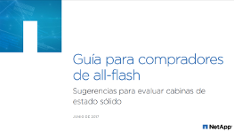 Guía del comprador de All-Flash