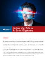 El potencial de la plataforma IoT para crear aplicaciones de realidad aumentada