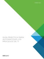 Guía práctica para automatizar los procesos TI