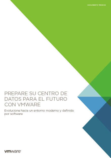 Prepare su centro de datos para el futuro con VMware