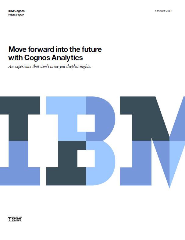 Avance hacia el futuro con IBM Cognos Analytics