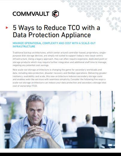 5 formas de reducir el TCO con un dispositivo de protección de datos