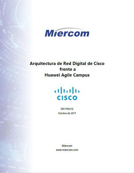 Miercom report: Comparación con Huawei de Switching y Wireless