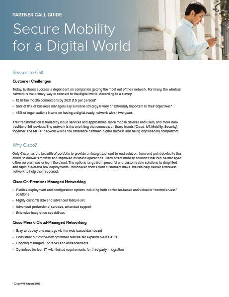Guía de llamada – Secure Mobility for a Digital World