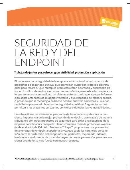 Seguridad de la red y del endpoint