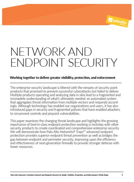Seguridad de la red y Endpoint