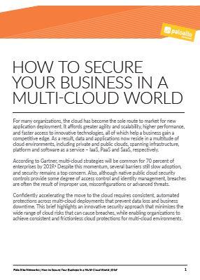 Cómo asegurar su empresa en un mundo multicloud
