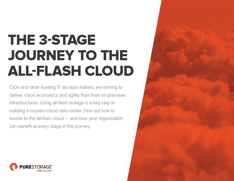 Un viaje a las 3 etapas de la nube all-flash