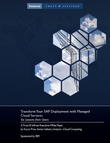 Transforme su implementación SAP administrando los servicios de la nube