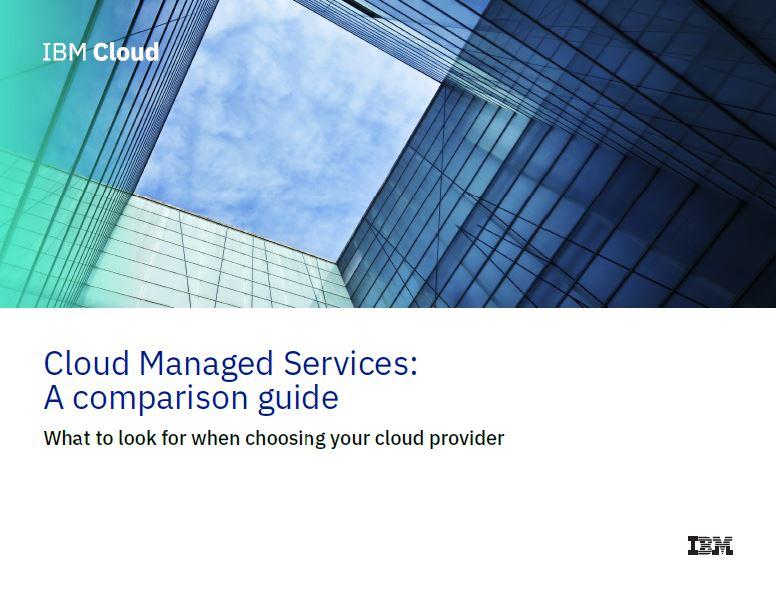 Servicios gestionados en la nube: Una guía de comparación