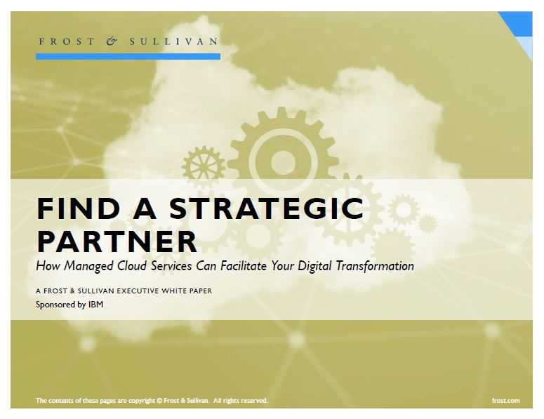 Encuentre un socio estratégico