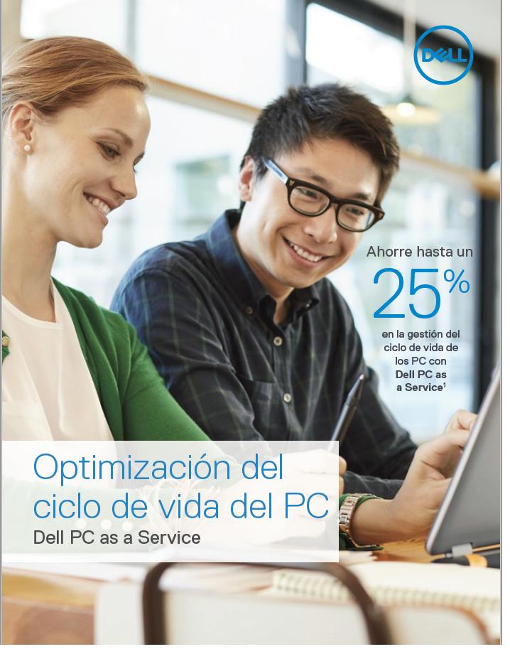 Optimización del ciclo de vida de los PC: PC como servicio de Dell