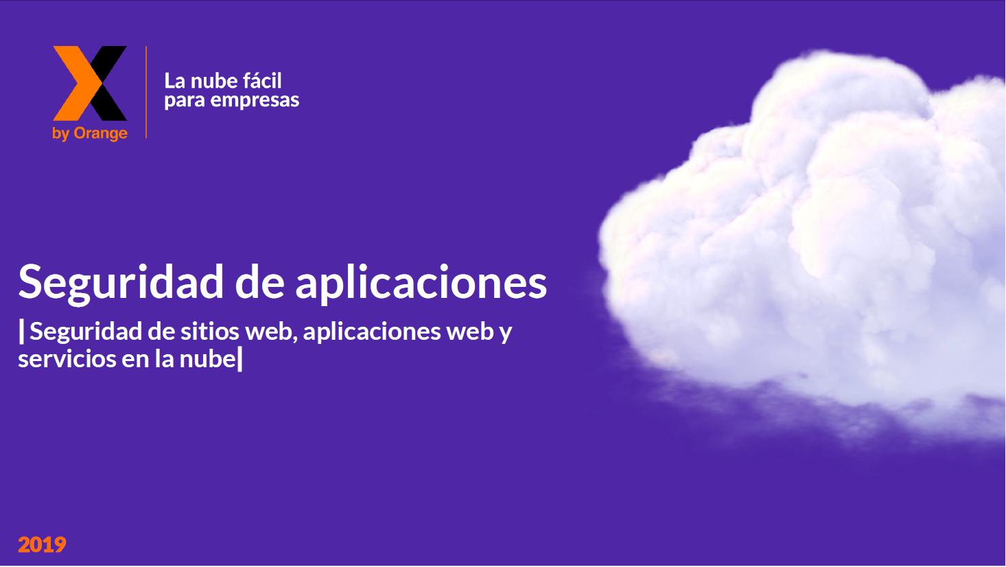 Seguridad de aplicaciones: Sitios web, aplicaciones web y servicios en la nube.
