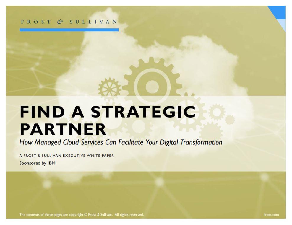 Busque un socio estratégico: Cómo los servicios de cloud gestionados pueden facilitar la transformación digital