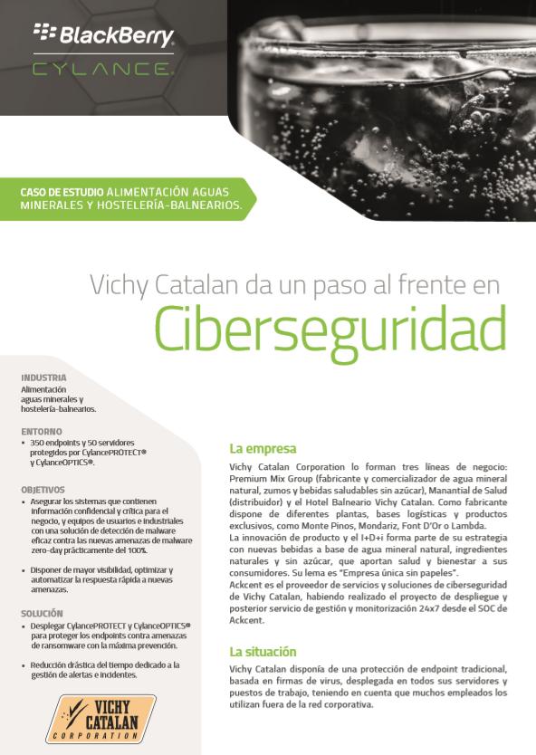 Vichy Catalan da un paso al frente en Ciberseguridad