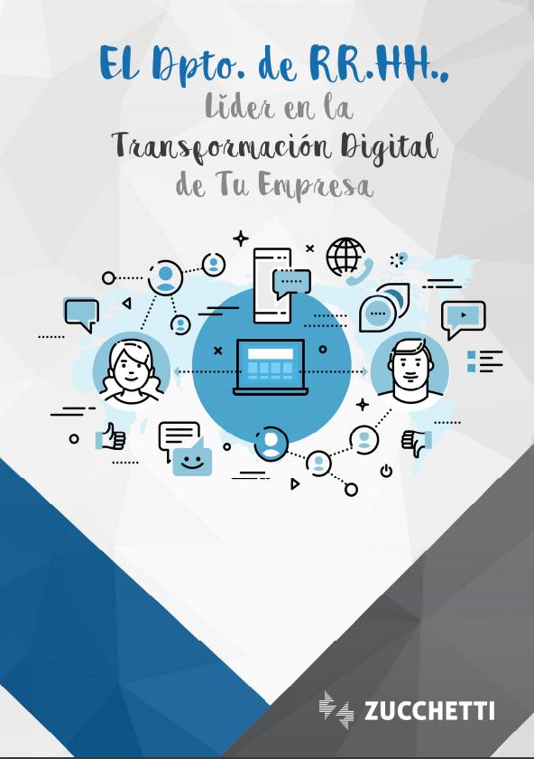 El Dpto. de RR.HH. líder en la transformación digital de tu empresa