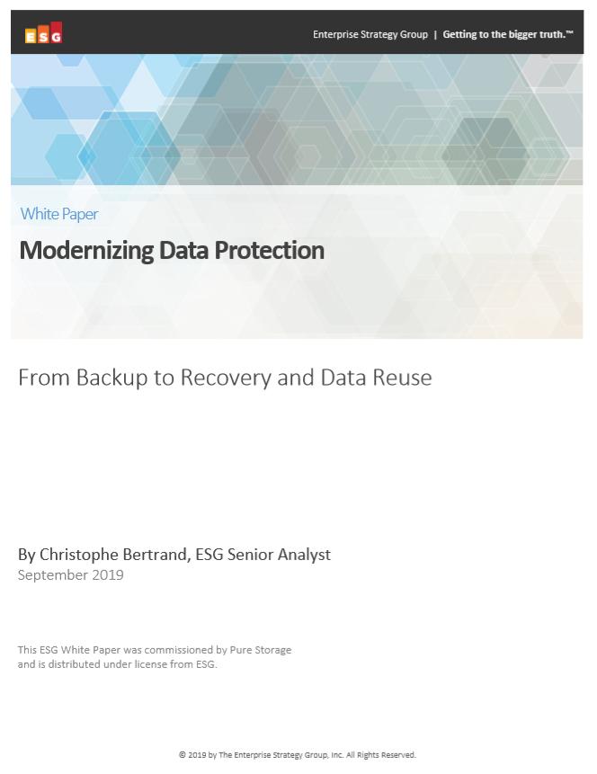 Modernización de la protección de datos
