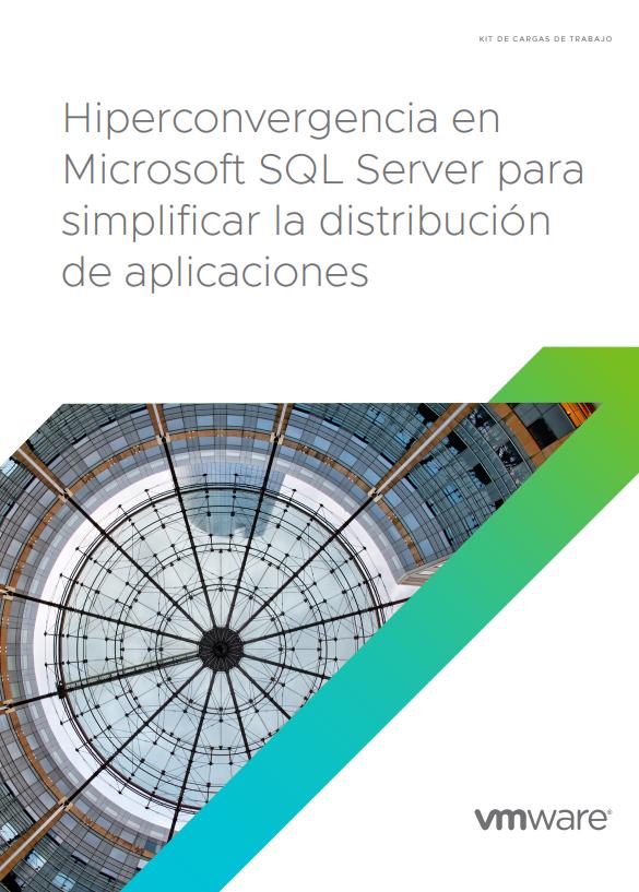 Hiperconvergencia en Microsoft SQL Server para simplificar la distribución de aplicaciones