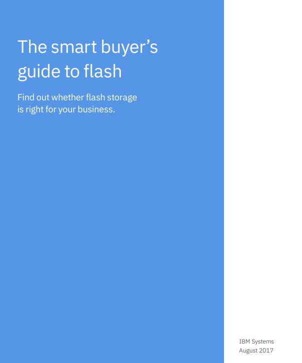 El comprador inteligente – guía del flash