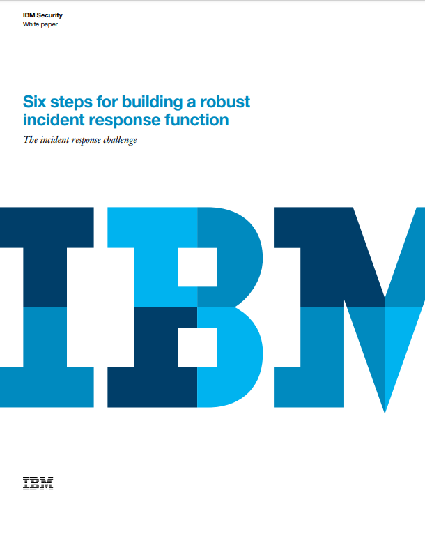 Seis pasos para construir una función robusta de respuesta a incidentes