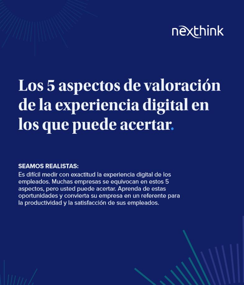 Los 5 aspectos de valoración de la experiencia digital en los que puede acertar