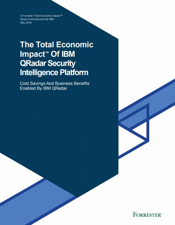 El Impacto económico total™ de la plataforma de IBM Qradar de inteligencia en seguridad