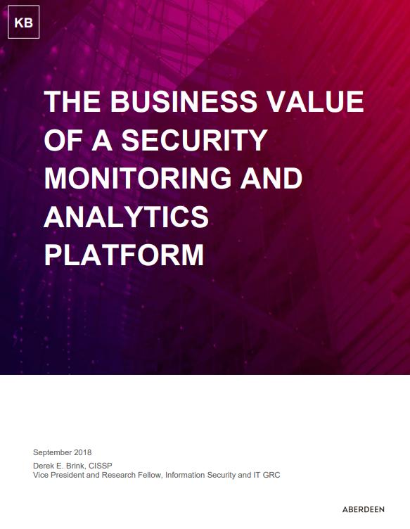 El valor para negocio de una plataforma de monitorización y análisis de seguridad