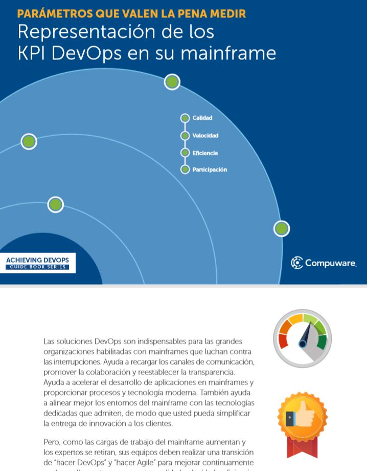Sepa cómo medir y mejorar los procesos DevOps en su mainframe