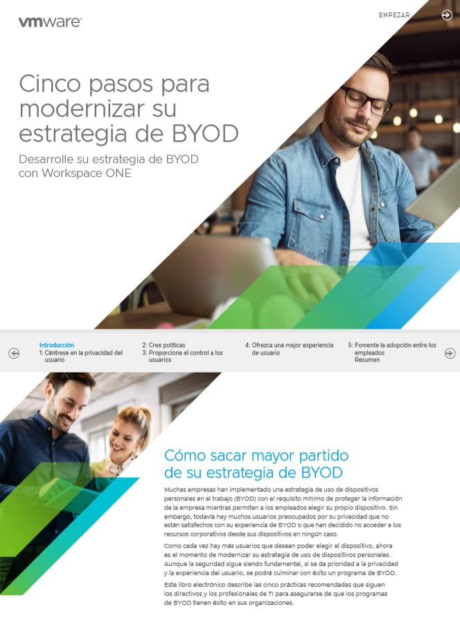 Cinco pasos para modernizar su estrategia de BYOD
