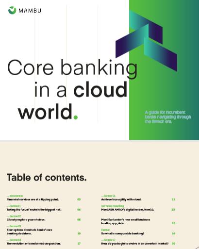Core Banking en un mundo de nubes