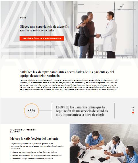 AVAYA ofrece una experiencia de atención sanitaria más conectada