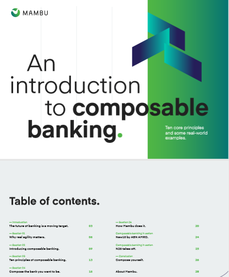 Una introducción a Composable Banking