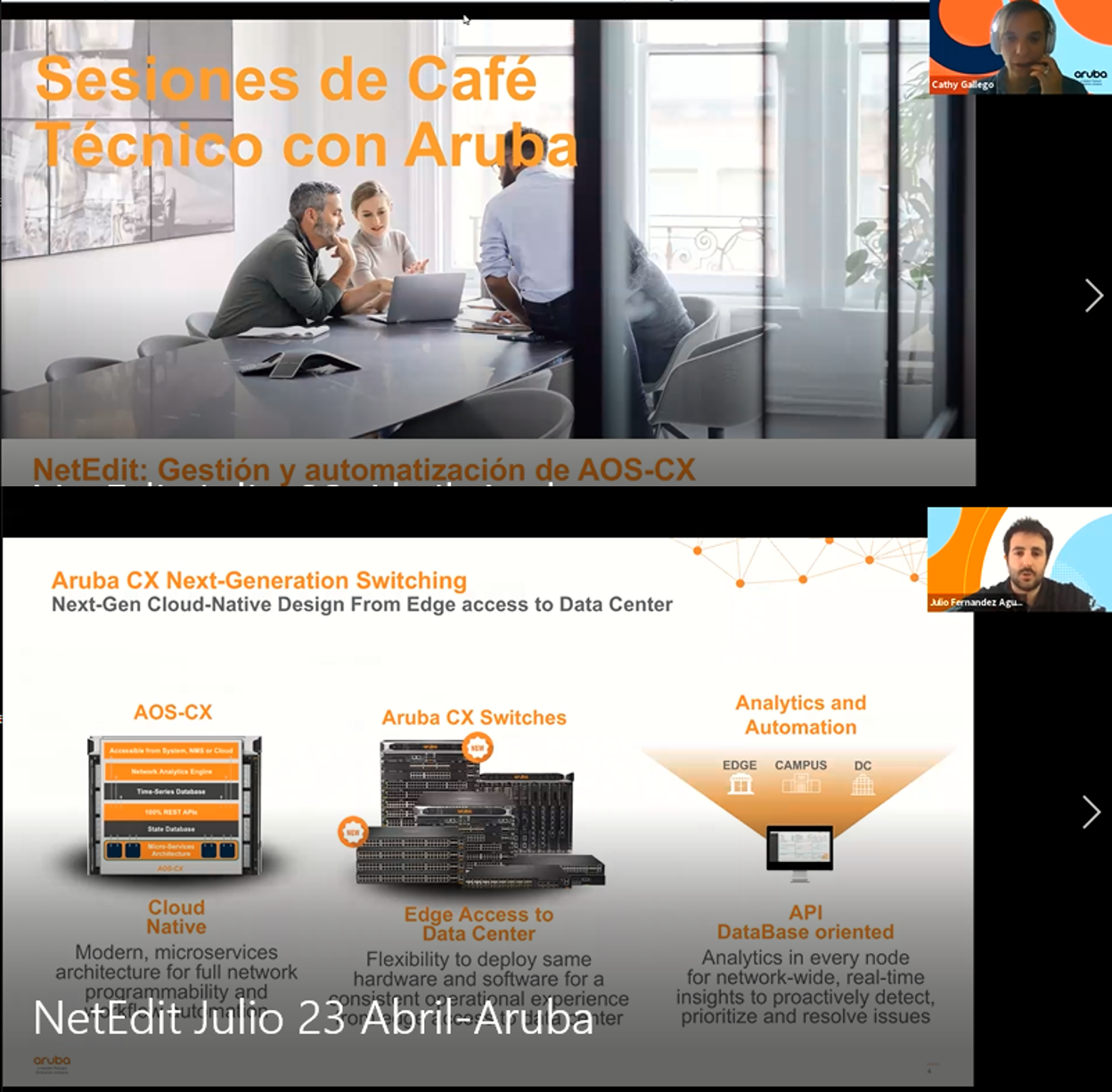 Aruba NetEdit para una configuración de red libre de errores