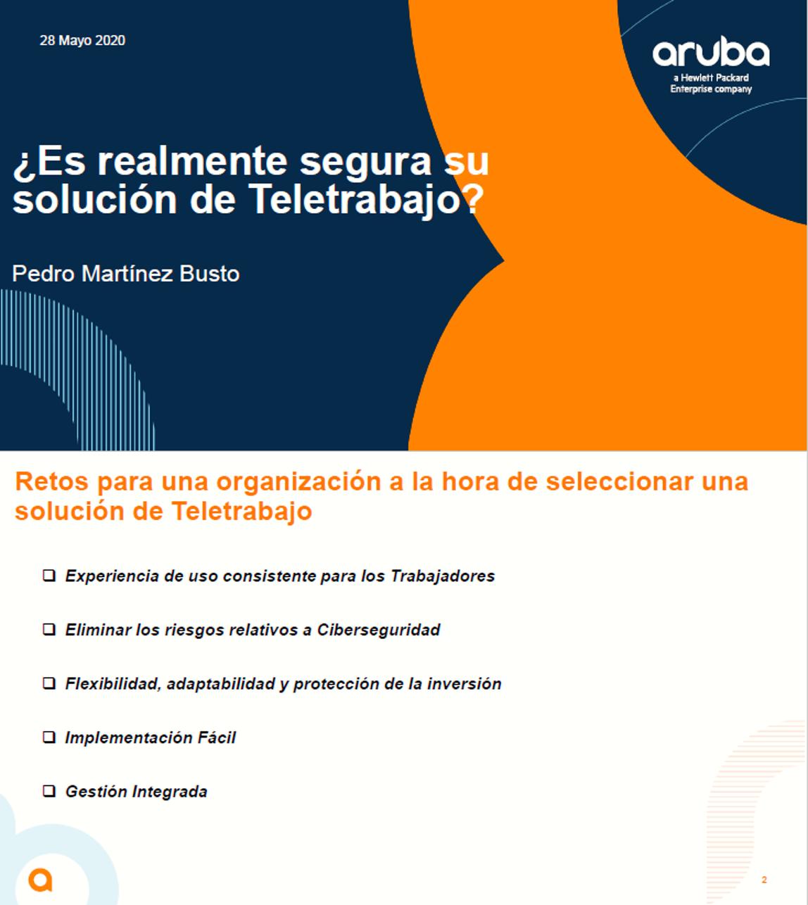 ¿Es realmente segura su solución de Teletrabajo?