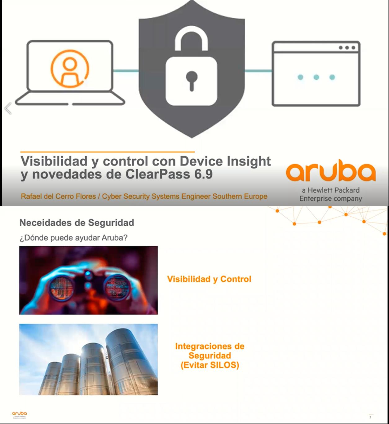 Visibilidad y control con Device Insight y novedades de ClearPass