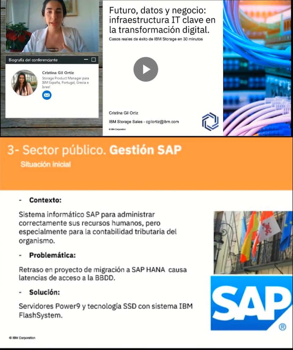 Webinar: Futuro, datos y negocio: Infraestructura IT clave en la transformación digital