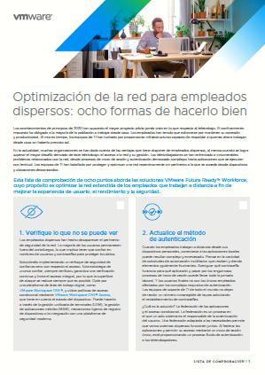 Optimización de la red para empleados dispersos: ocho formas de hacerlo bien